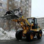 погрузчик для уборки снега