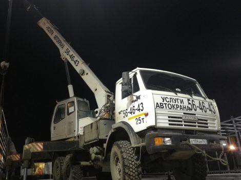аренда автокрана 25 тонн в Ижевске