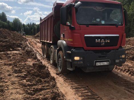 услуги самосвала в Ижевске и области