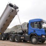 самосвал Scania принцеп грюнвельд 2 нов