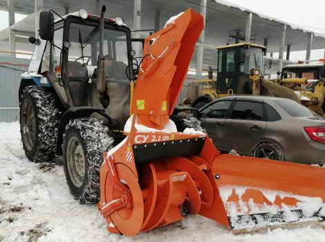 аренда снегоуборочного агрегата